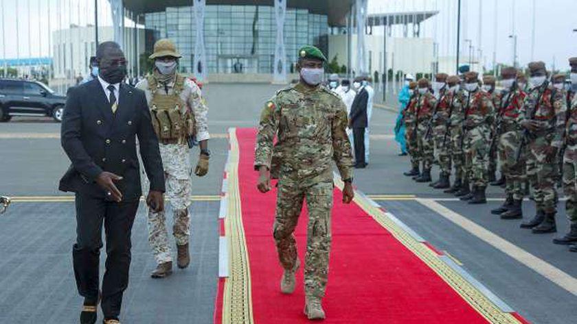 الرئيس الانتقالي في مالي عاصمي جويتا
