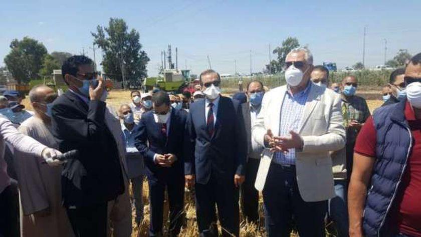 وزير الزراعة بكفر الشيخ