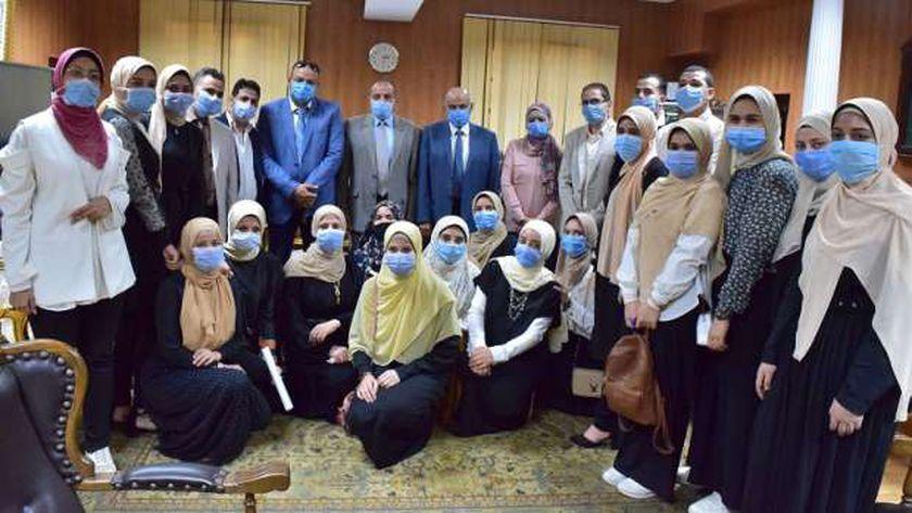 طلاب جامعة بنى سويف ينفذون أول تطبيق لأطفال التوحد على مستوى الجامعات المصرية