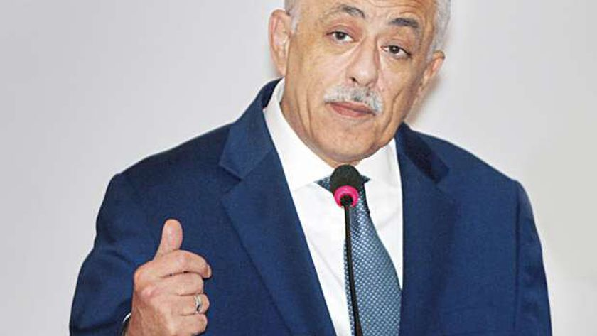 وزير التربية والتعليم الدكتور طارق شوقي