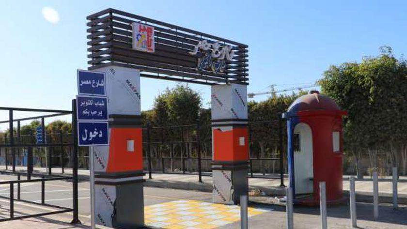 """صور.. استعدادات افتتاح مشروع """"شارع مصر"""" في 6 أكتوبر غدا"""