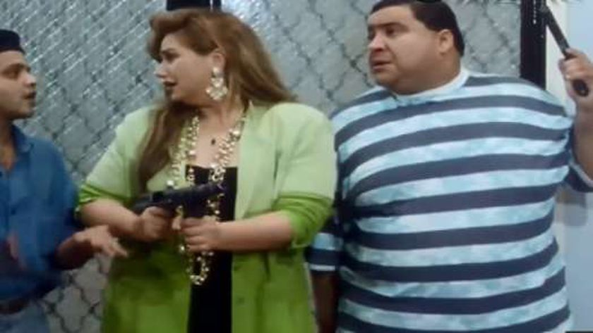 هنيدي في فيلم حلق حوش