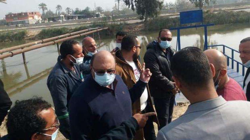 اللواء عبد الحميد عصمت رئيس مجلس إدارة شركة مياه الشرب والصرف الصحي بمحافظات القناة