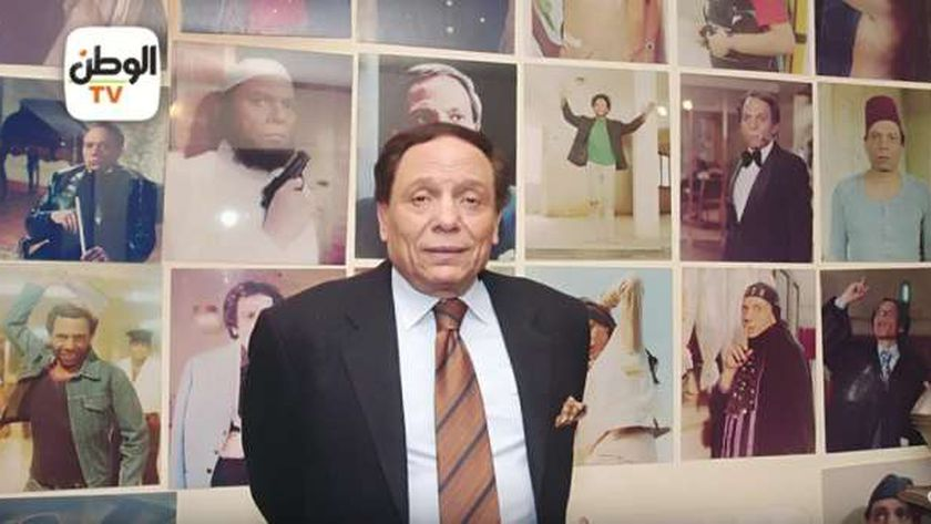 الفنان عادل إمام