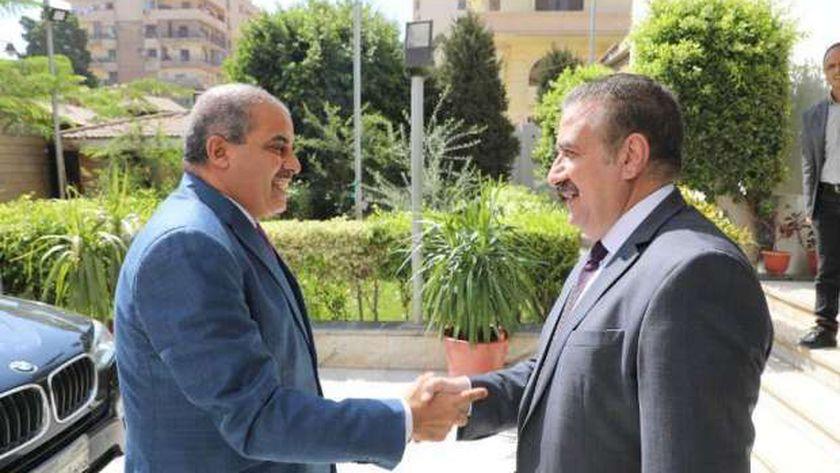 محافظ المنوفية ورئيس جامعة الأزهر