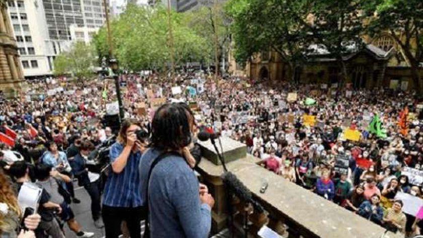 مظاهرات سابقة فى استراليا