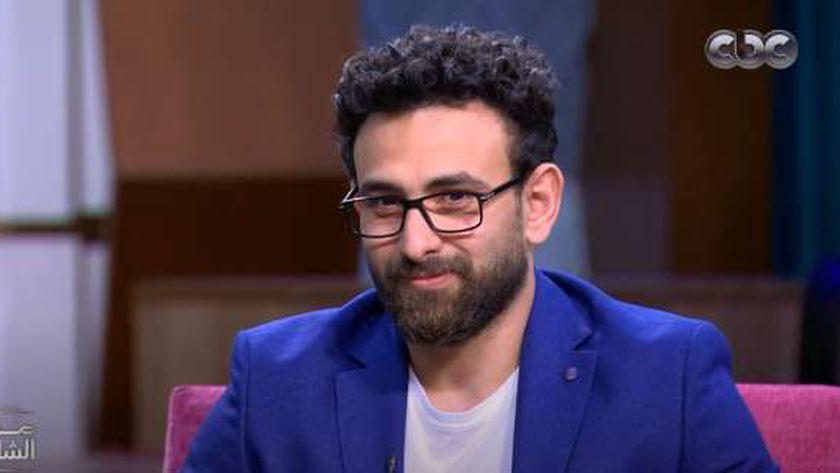 الإعلامي الرياضي إبراهيم فايق
