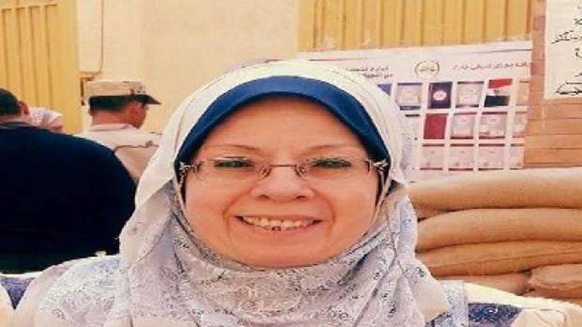 الدكتورة نجوى الشافعي الأمين العام لنقابة الأطباء