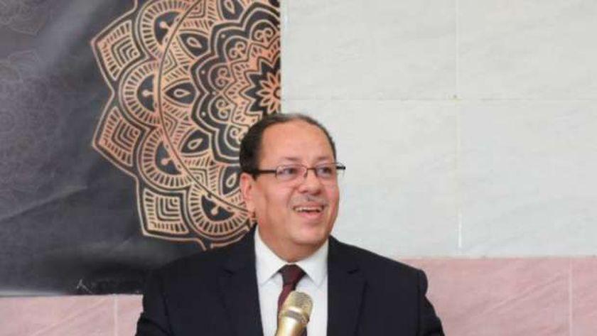 الدكتور محمد شوقى عبدالعال، الممثل القانونى للقائمة الوطنية بانتخابات مجلس الشيوخ