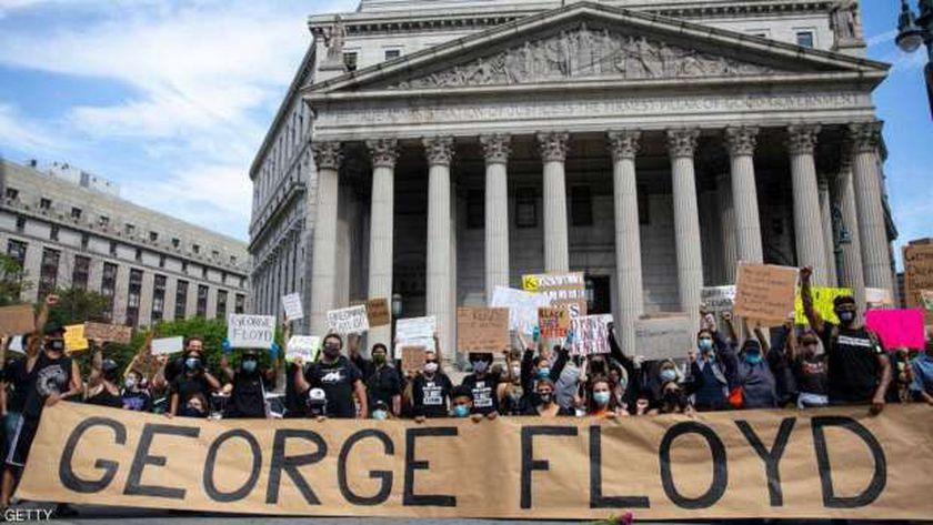 المظاهرات تجتاح عدة مدن أميركية احتجاجا على مقتل فلويد
