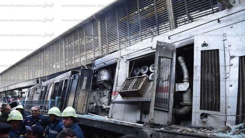 حادث حريق السكة الحديد