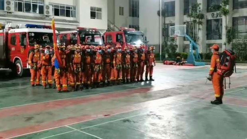 قوات الإطفاء الصينية
