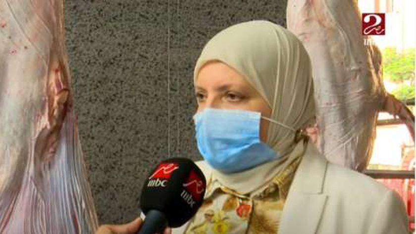 الدكتورة أمل العسيلي مدير مديرية الطب البيطري بالقليوبية