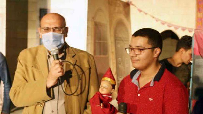 محمد عبدالحافظ رئيس المركز القومي لثقافة الطفل خلا تدشين أول أراجوز من ذوي الهمم