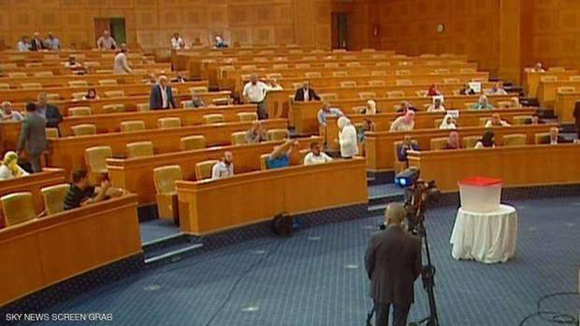 جلسة التصويت على سحب الثقة من الغنوشي
