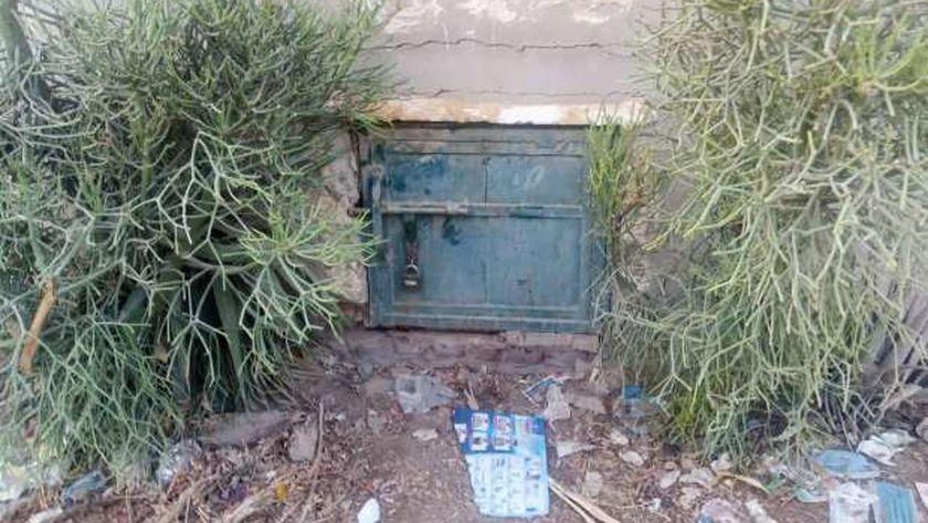 مقبرة الصدقة ببنها محل واقعة ضحية زوجها