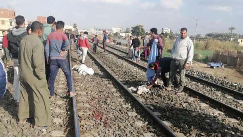 حادث قطار «الزقازيق – الإسماعيلية»