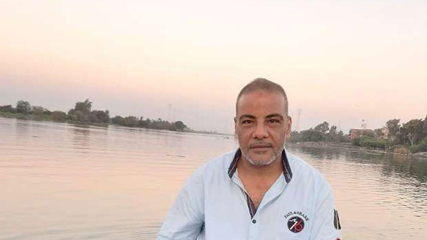 السائق محمود شعبان أبو حرام قائد قطار أسيوط ومنق التوكتوك