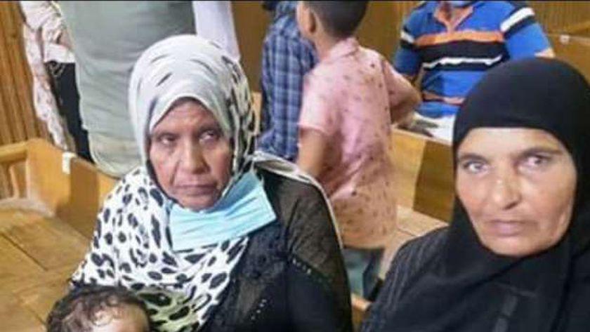 أسرة ضحية زوج مذبحة كفر الدوار