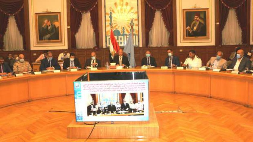 اجتماع المجلس التنفيذي لمحافظة القاهرة
