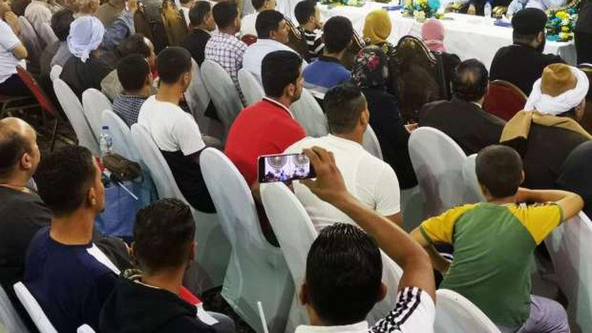 مؤتمر جماهيري حاشد بمنيا القمح لتأييد القائمة الوطنية