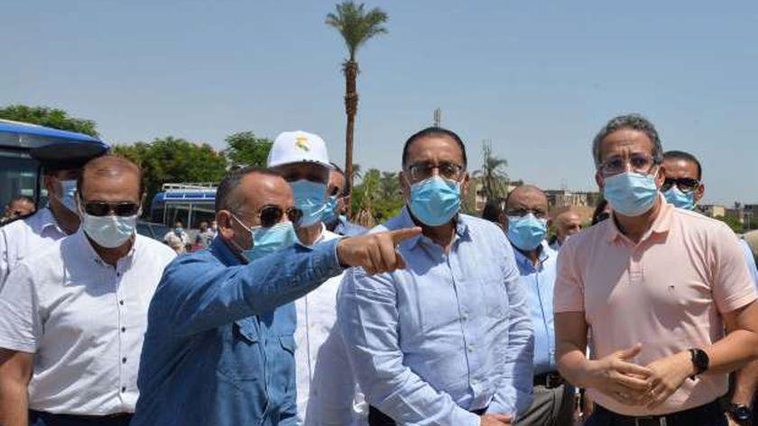 مصطفى مدبولي خلال زيارته للأقصر