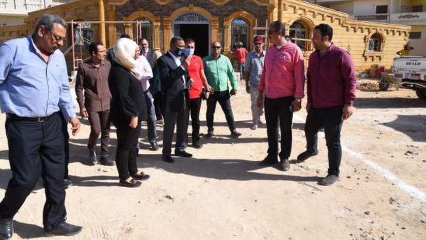 مبنى رعاية أطفال التوحد بمدينة مرسى مطروح