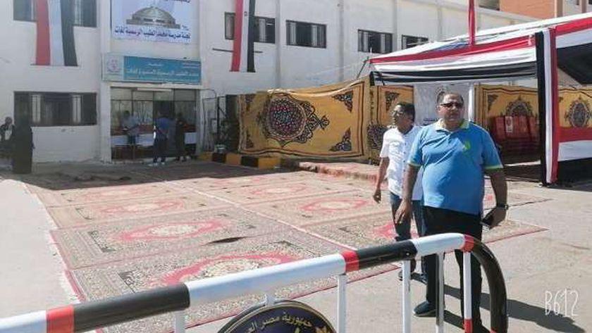 تجهير المقرات الإنتخابية بالبحر الأحمر