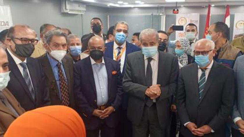 وزير التموين خلال زيارته لمحافظة بورسعيد