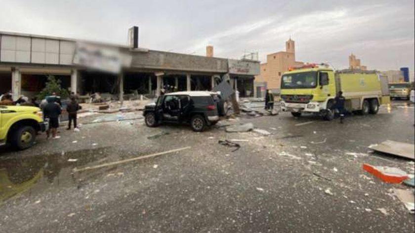 انفجار مطعم في الرياض