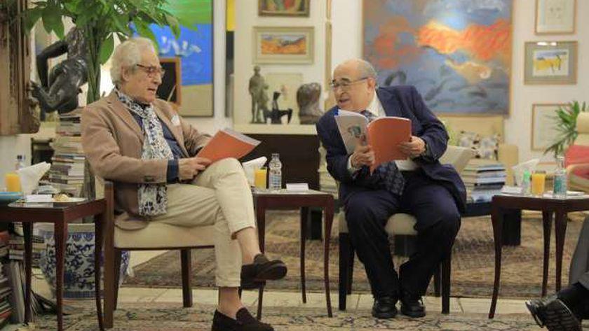 اجتماع مؤسسة فاروق حسني للثقافة والفنون