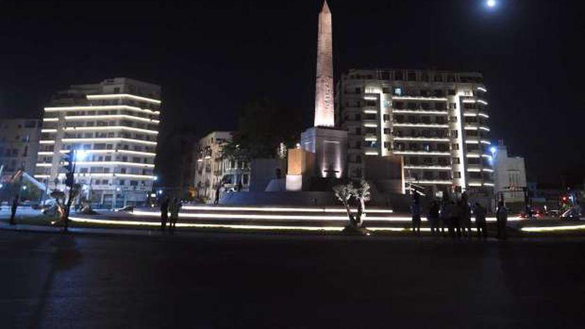 ميدان التحرير بعد أعمال التطوير