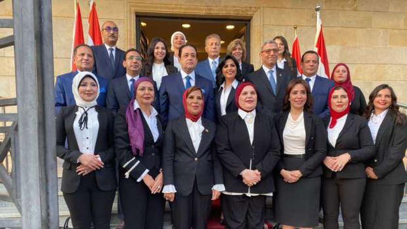 مرشحو القائمة الوطنية من أجل مصر لانتخابات مجلس النواب