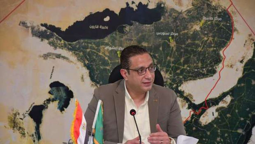 الدكتور أحمد الأنصاري - محافظ الفيوم
