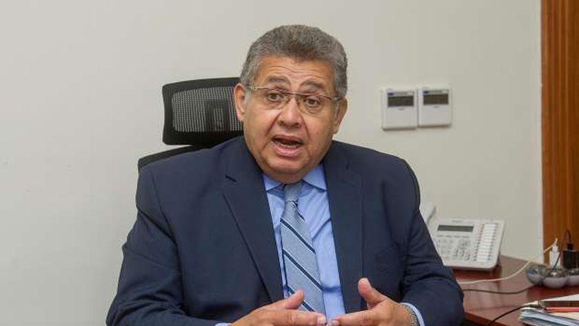 الدكتور أشرف الشيحي رئيس الجامعة المصرية الصينية 2021
