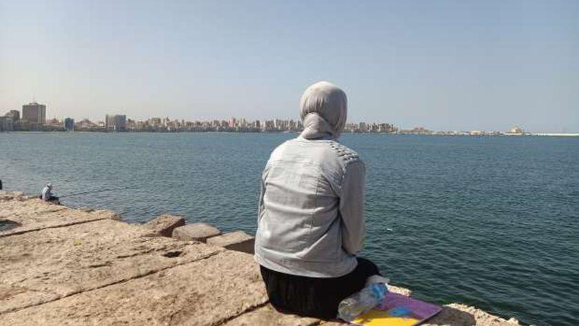 طقس مشمس في الإسكندرية قبل ساعات من هطول الأمطار