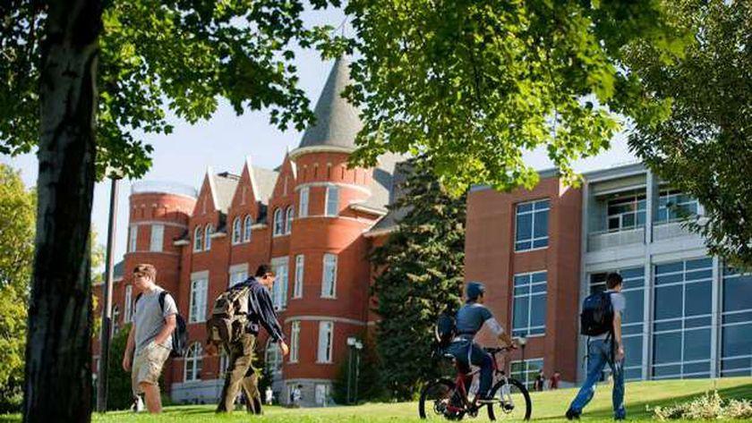 صورة من أحدى الجامعات بواشنطن