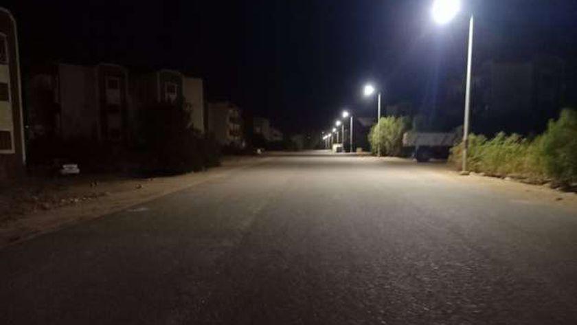 الشوارع خالية
