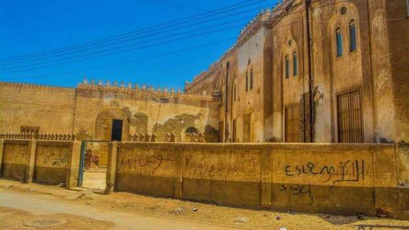 مسجد أبوغنام ببيلا فى كفر الشيخ من الخارج والداخل