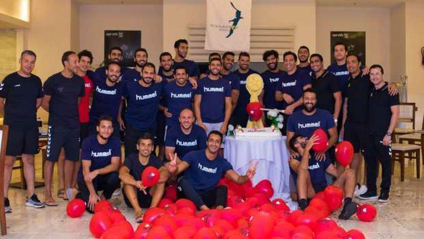 حفل ختام معسكر منتخب مصر لكرة اليد بالغردقة