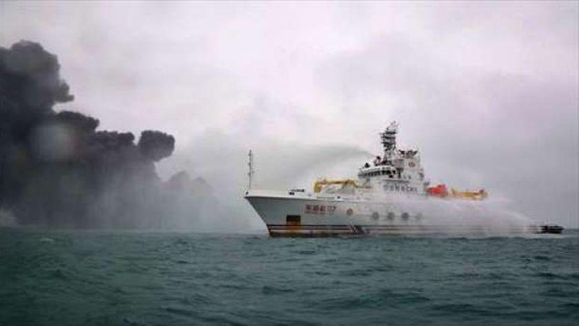 عاجل..اصطدام سفينتين بالقرب من جزيرة شيكوكو جنوب شرقي اليابان