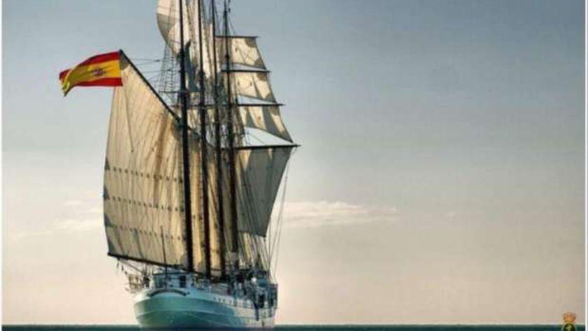 السفينة الإسبانية  خوان سبستيان الكانو