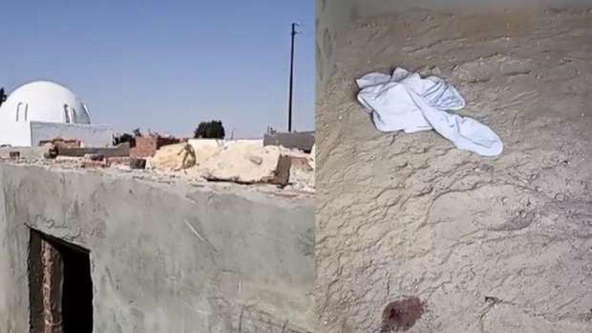 نجاة طفل المقبرة بعد العثور عليه حيا داخل تربة