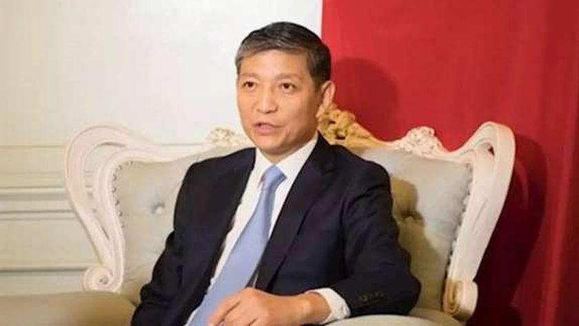 صورة سفير الصين بالقاهرة: مصر أول دولة عربية وأفريقية أقامت علاقات جيدة معنا – مصر