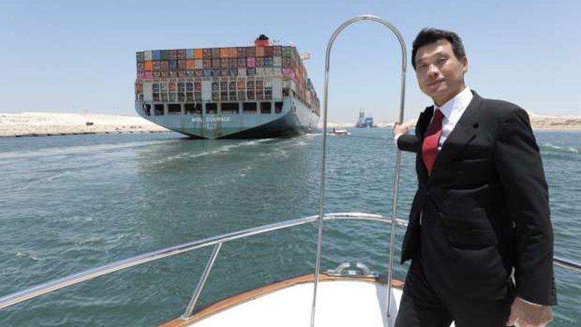 السفير الكوري في قناة السويس