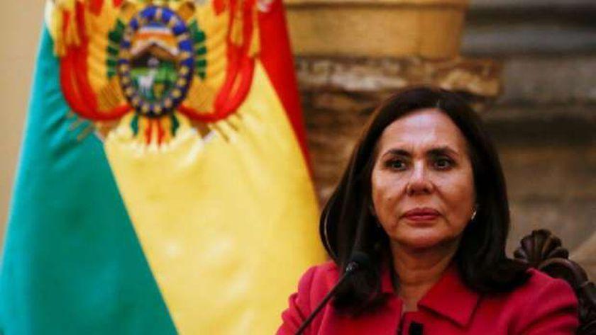 وزيرة خارجية بوليفيا