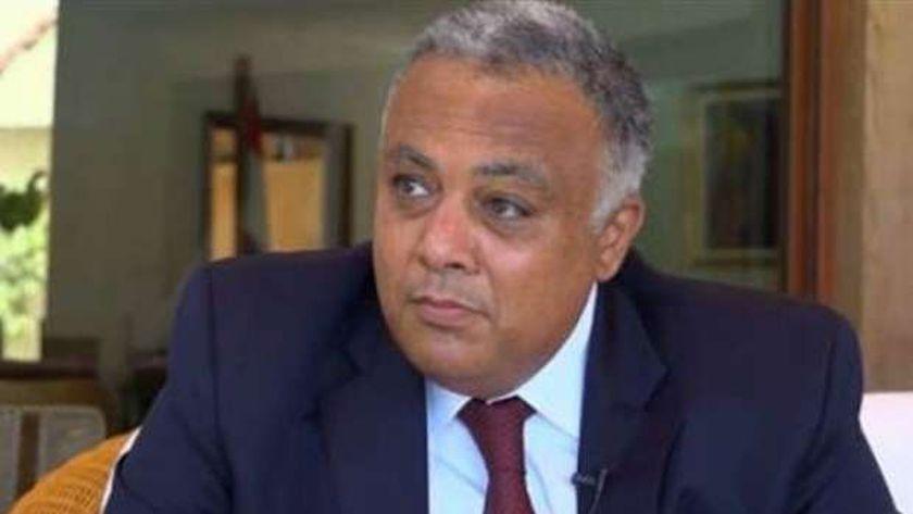 السفير أحمد إيهاب جمال الدين