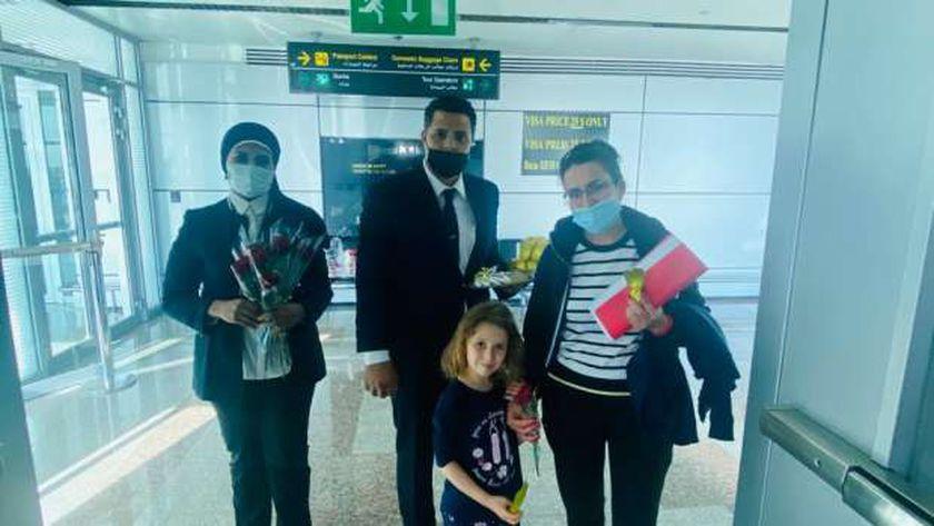 لأول مرة يتم تشغيل رحلات مباشرة بين مدينة سان بطرسبرج الروسية ومطار القاهرة