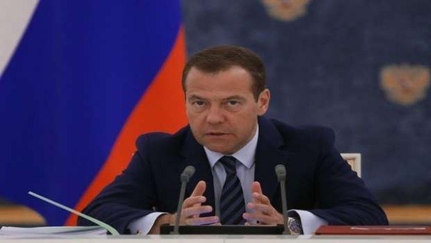 نائب رئيس مجلس الأمن الروسي دميتري مدفيديف