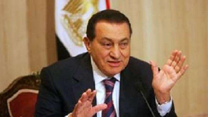 حسني مبارك الرئيس الأسبق